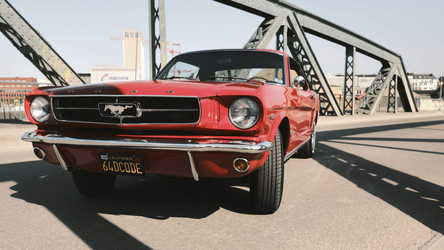 Cover picture of product Mustang 64 - Brücke, Fotoprint 60 x 40 cm